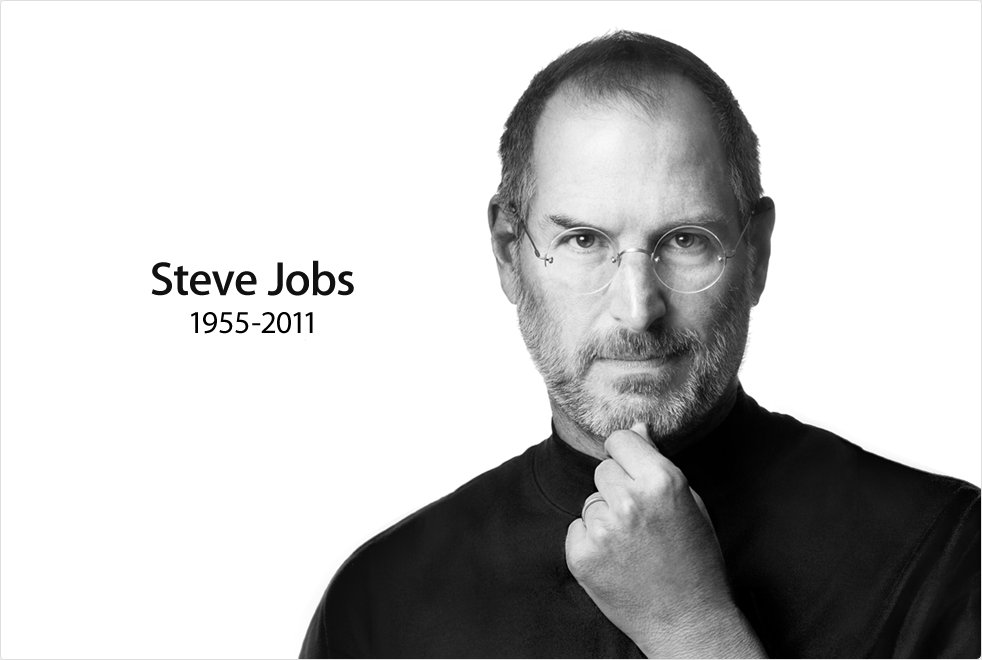 Steve Jobs: 1955 - 2011. RIP