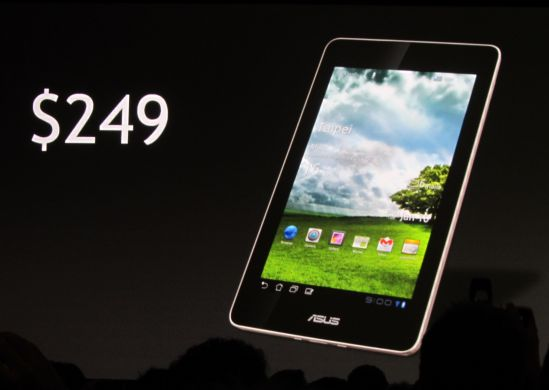 Asus Eee Pad MeMO MT370T - via Liliputing